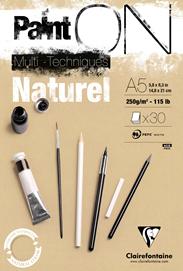 CARTA RUVIDA 250g/m. – Colore Naturale A4