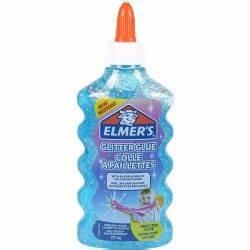 Colla Elmers Glitterata Liquida blu