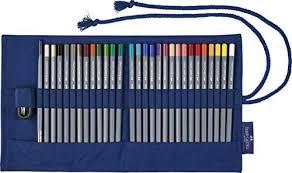 Rotolo  Faber Castell con matite colorate acquerellabili Goldfaber Aqua