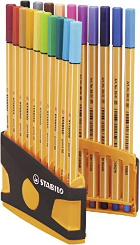 Confezione Stabilo ponti 88  20/pz