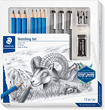 Set Staedler Sketching Set 12/pz