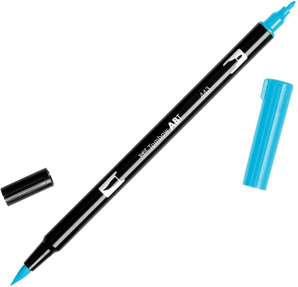 Tombow Abt dual brush cod. 443 turquoise