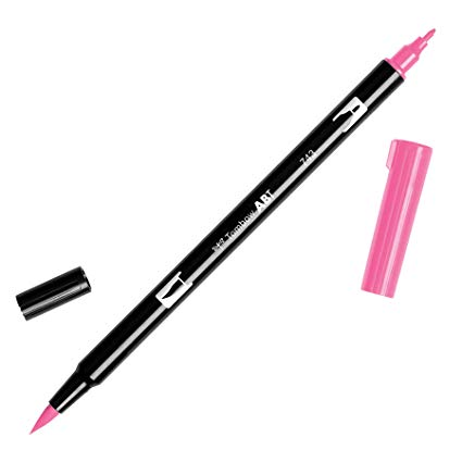 Tombow Abt dual brush cod. 743 hot pink