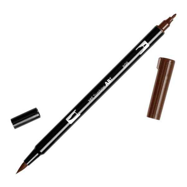 Tombow Abt dual brush cod. 899 red wood