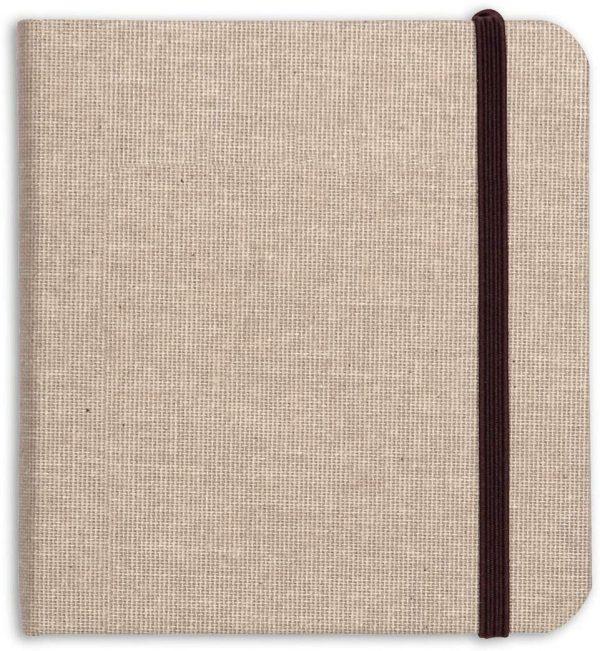 Taccuino Clairefontaine  Gold line di viaggio 32 fogli naturale formato 180 g 15 x 15 cm