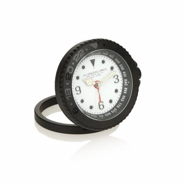 Orologio Spalding da tavola quadrante bianco
