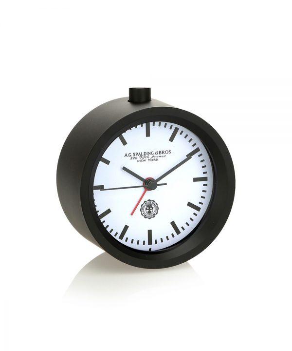 Orologio Spalding da tavola tonda quadrante bianco
