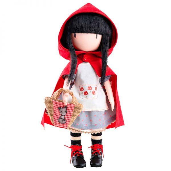 Bambola Gorjuss Santoro Cappuccetto Rosso 32 cm