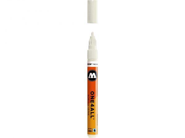 Pennarello acrilico MOLOTOW – One4All da 2mm – Bianco Natura – cod. 229